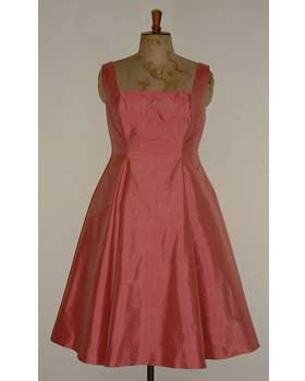 Rose Pink Dress with Petticoat