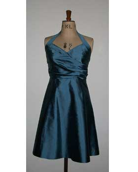 Blue Halterneck Dress