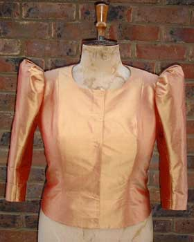 Gold Silk Jacket