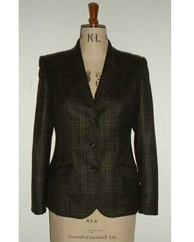 Cashmere Check Jacket