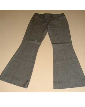 Cotton Chambray Trousers